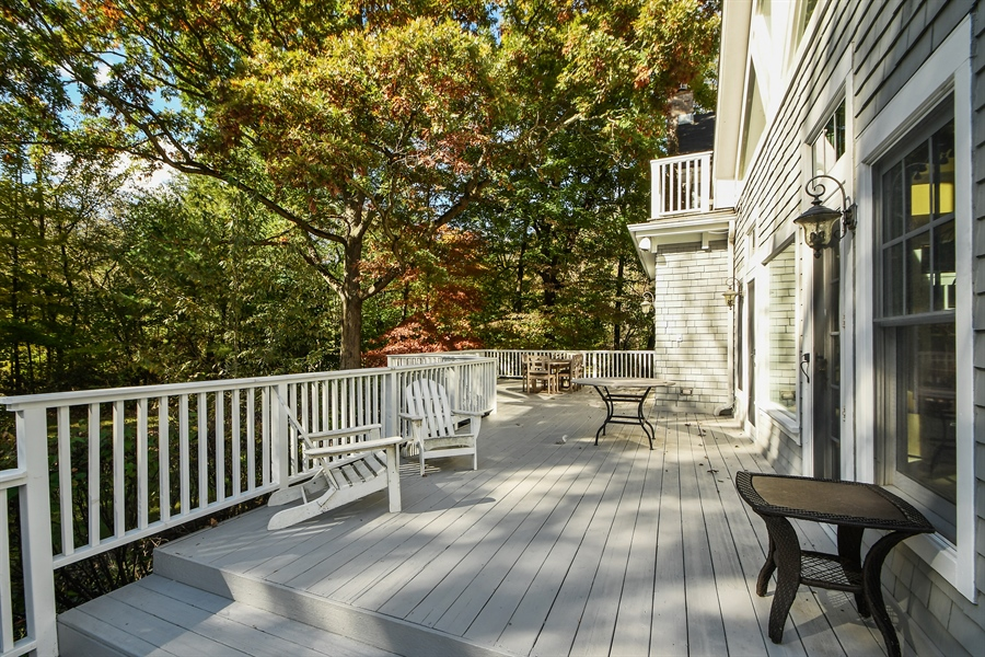 Real Estate Photography - 521 Durham Drive, Frankfort, IL, 60423 - Deck