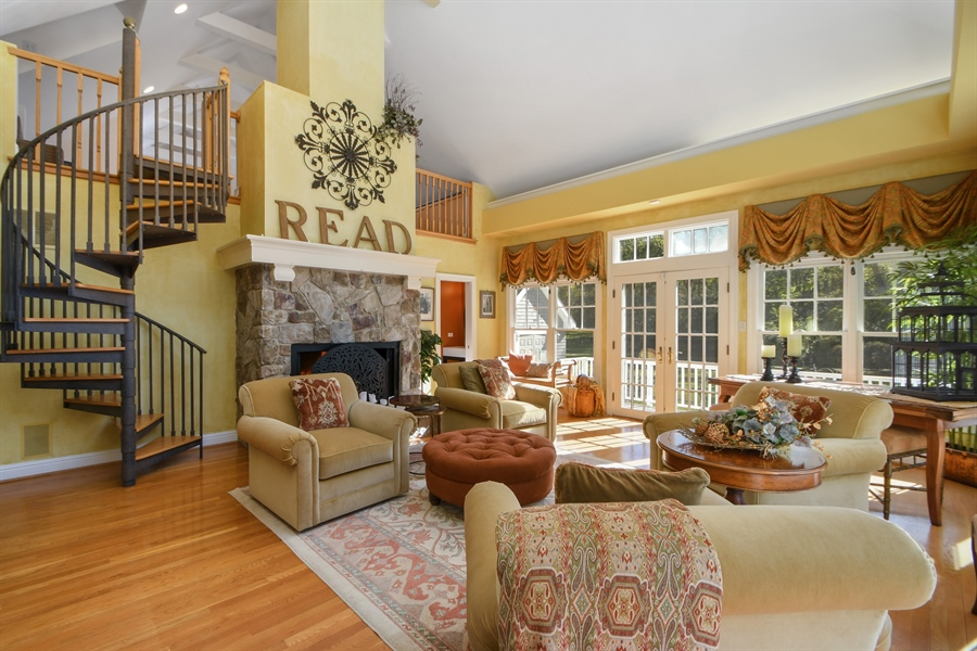 Real Estate Photography - 521 Durham Drive, Frankfort, IL, 60423 - Sunroom