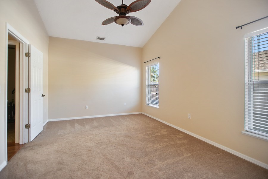 Real Estate Photography - 605 Bent Oak Loop, Davenport, FL, 33837 - Master Bedroom