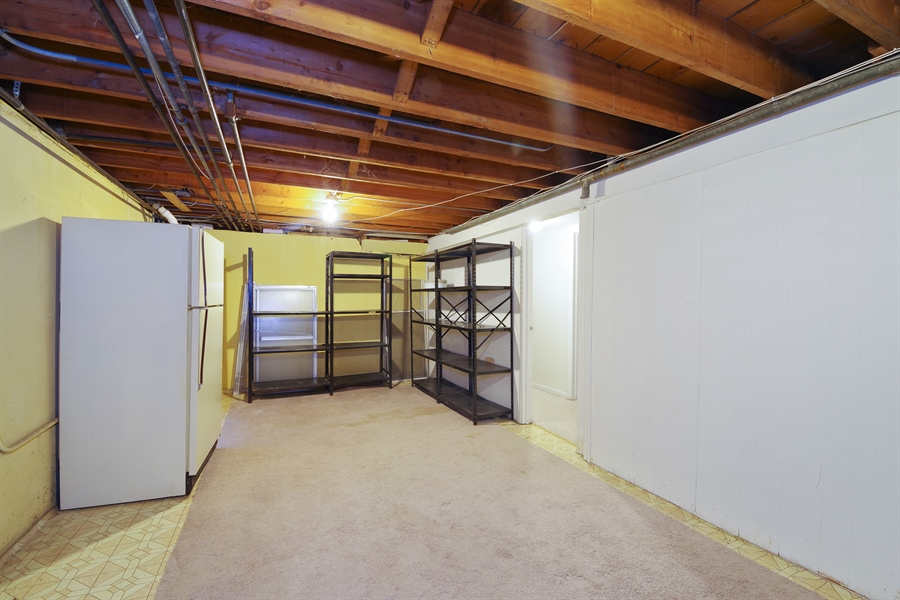 Real Estate Photography - 616 Harvard St, Wilmette, IL, 60091 - Sub-Basement/Utility Area - Great for Storage-2nd
