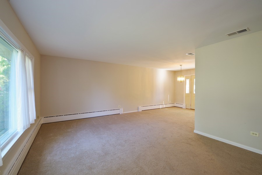 Real Estate Photography - 616 Harvard St, Wilmette, IL, 60091 - Living Room/Dining Room