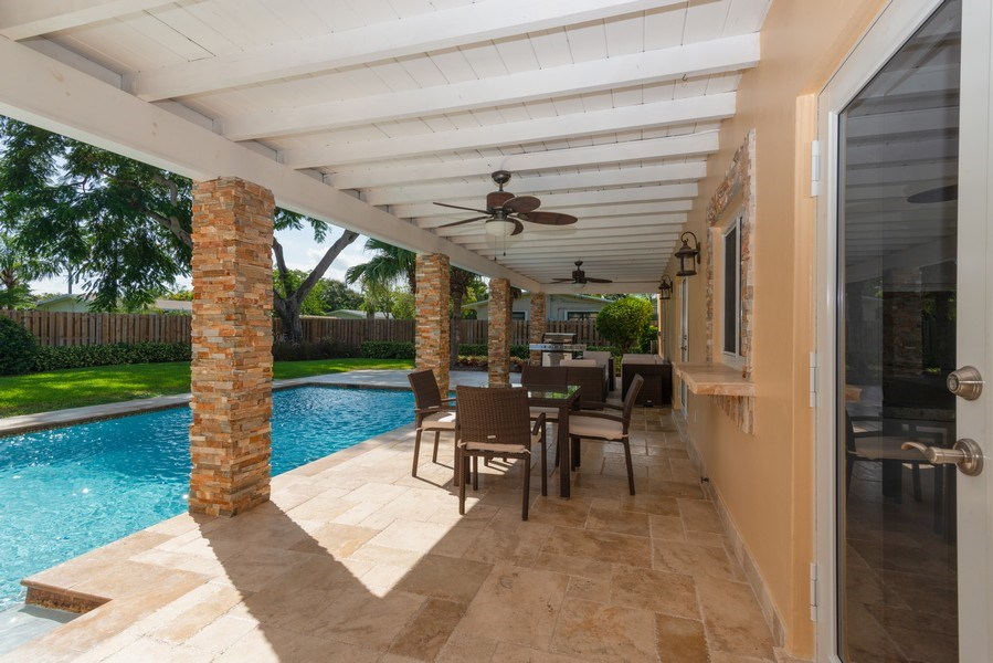 Real Estate Photography - 7505 SW 139th St, Palmetto Bay, FL, 33158 - Terrace