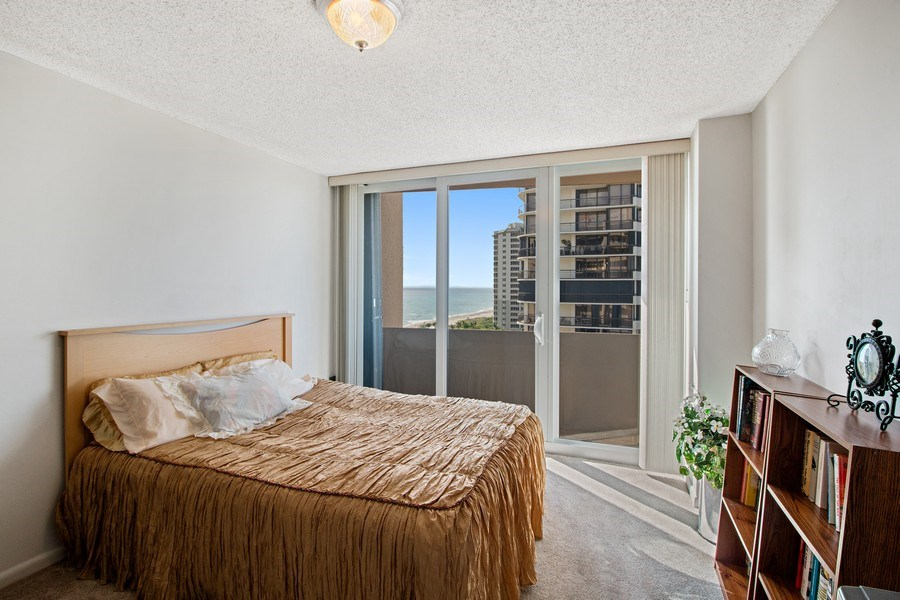 Real Estate Photography - 4200 N Ocean Dr 2, Unit 1203, Riviera Beach, FL, 33404 - Bedroom