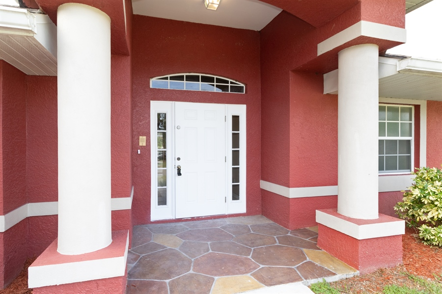 Real Estate Photography - 1300 OLIVET ST, LEHIGH ACRES, FL, 33972 -