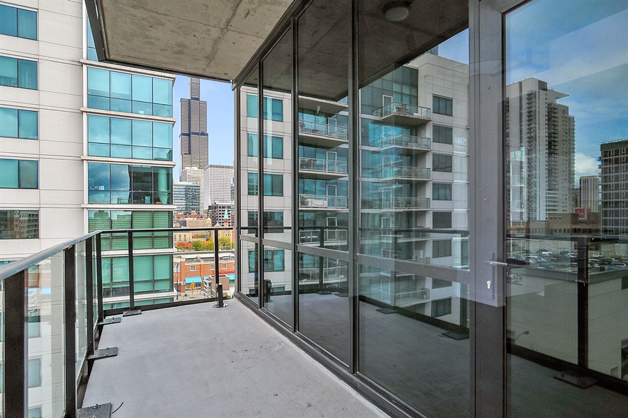Real Estate Photography - 111 S Peoria St, Chicago, IL, 60607 - Terrace 2