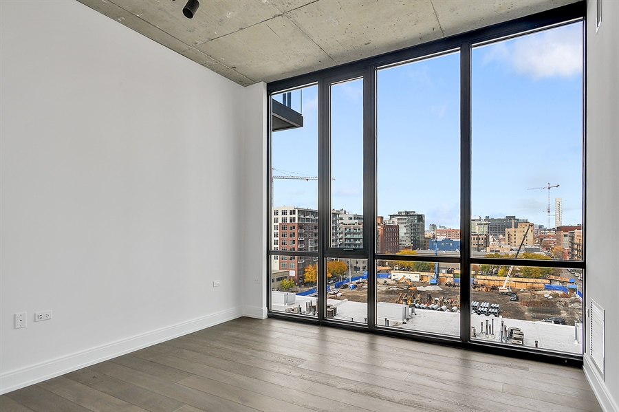 Real Estate Photography - 111 S Peoria St, Chicago, IL, 60607 - 2nd Bedroom