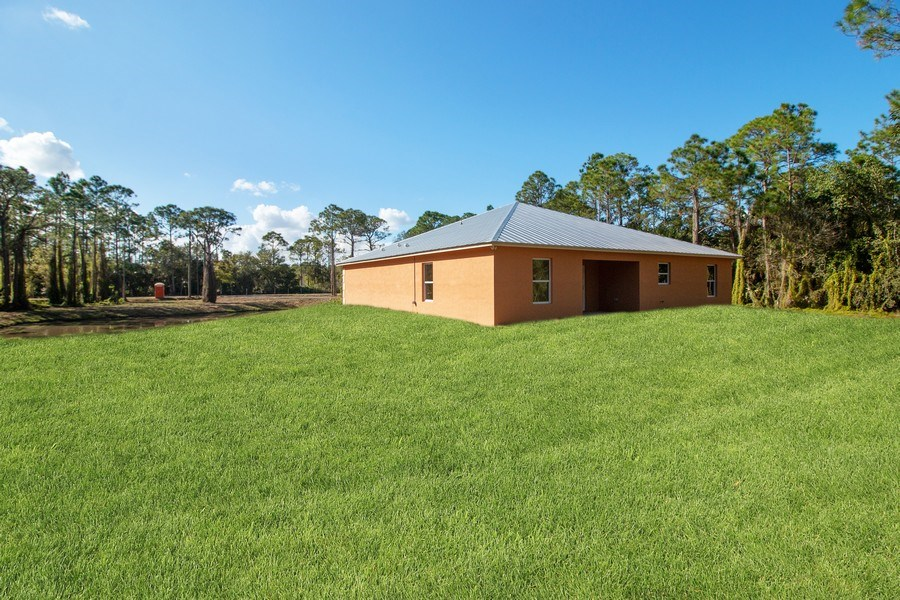 Real Estate Photography - 4093 SW 66th Ave, Palm City, FL, 34990 - Back Yard