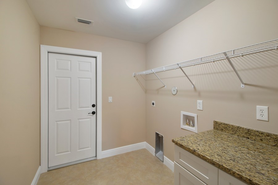 Real Estate Photography - 4093 SW 66th Ave, Palm City, FL, 34990 - Laundry Room