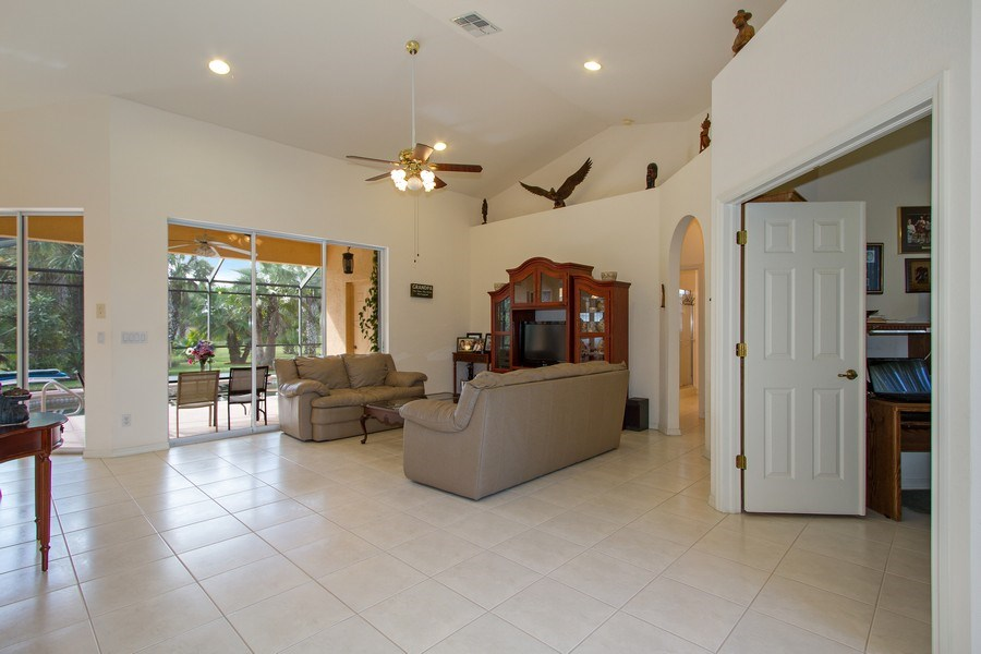Real Estate Photography - 3930 24th Ave SE, Naples, FL, 34117 - Living Room