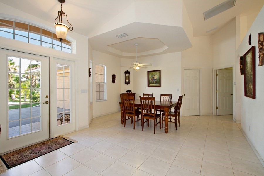 Real Estate Photography - 3930 24th Ave SE, Naples, FL, 34117 - Dining Room