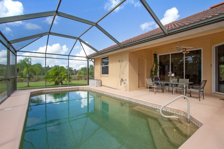 Real Estate Photography - 3930 24th Ave SE, Naples, FL, 34117 - Pool