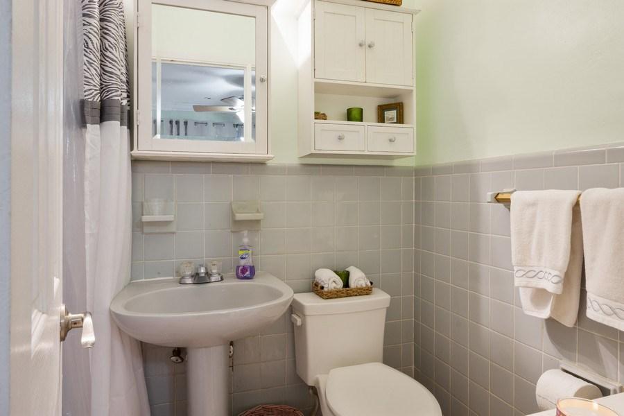 Real Estate Photography - 2741 NE 6th Avenue, Wilton Manors, FL, 33334 - Master Bathroom