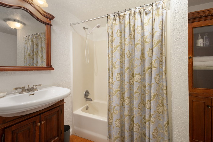 Real Estate Photography - 2741 NE 6th Avenue, Wilton Manors, FL, 33334 - Guest House Bathroom