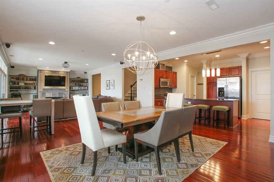 Real Estate Photography - 151 Wing, Unit 706, Arlington Heights, IL, 60005 - Kitchen/Dining