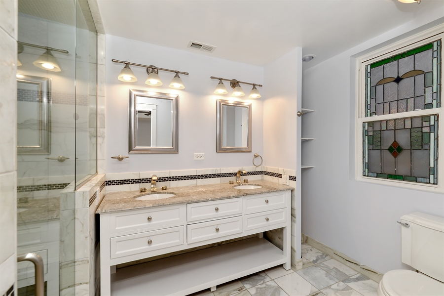 Real Estate Photography - 4217 N Winchester Ave, Chicago, IL, 60613 - Master Bathroom
