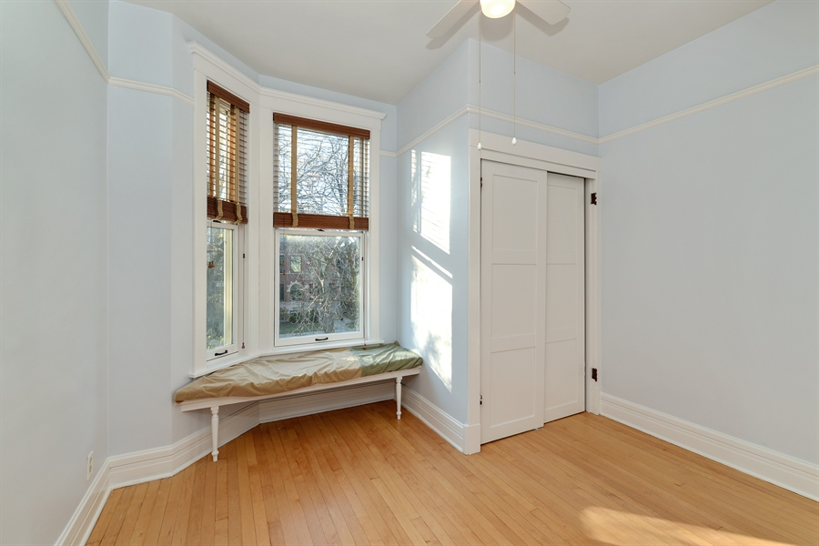 Real Estate Photography - 4217 N Winchester Ave, Chicago, IL, 60613 - 3rd Bedroom