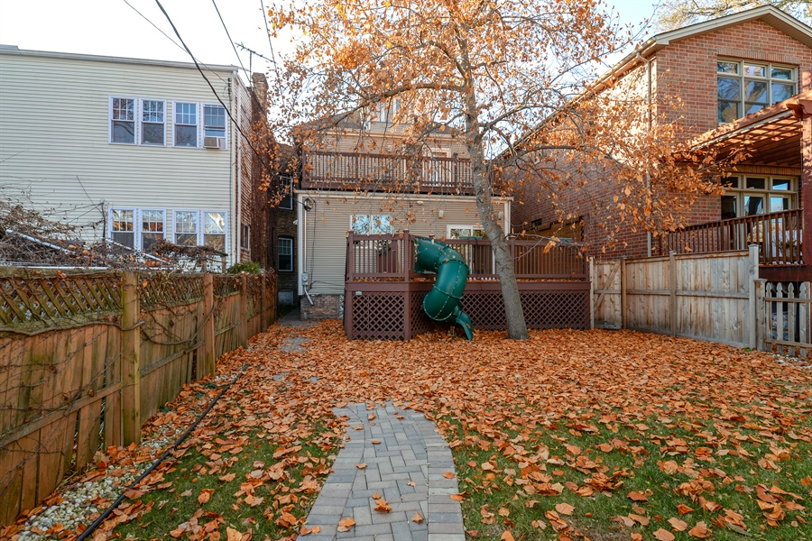 Real Estate Photography - 4217 N Winchester Ave, Chicago, IL, 60613 - Back Yard