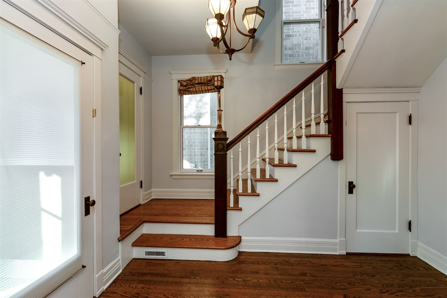 Real Estate Photography - 4217 N Winchester Ave, Chicago, IL, 60613 - Foyer