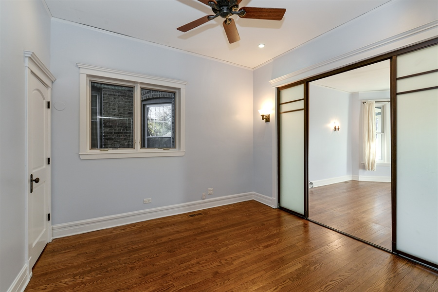 Real Estate Photography - 4217 N Winchester Ave, Chicago, IL, 60613 - Den