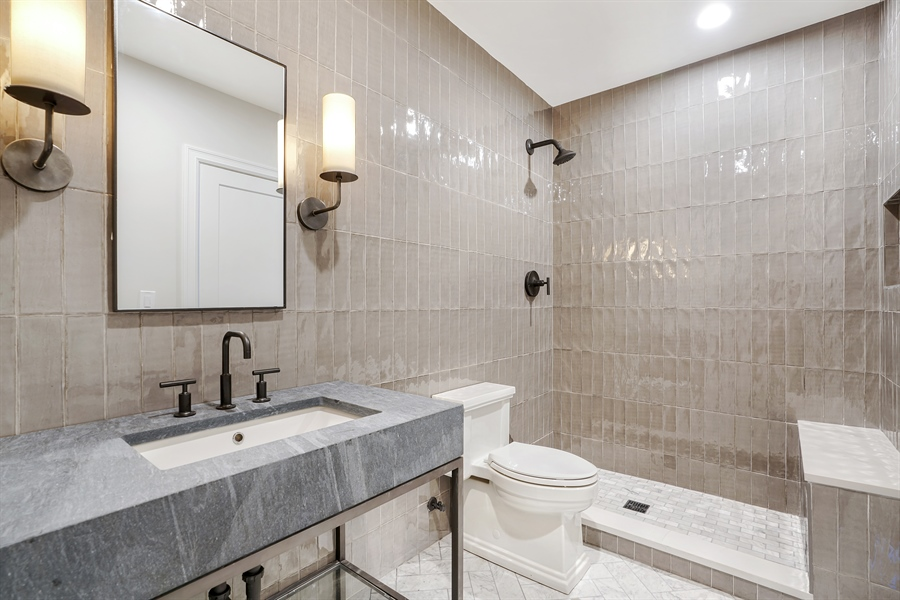 Real Estate Photography - 1906 N Hoyne Ave, Chicago, IL, 60639 - 3rd Bathroom