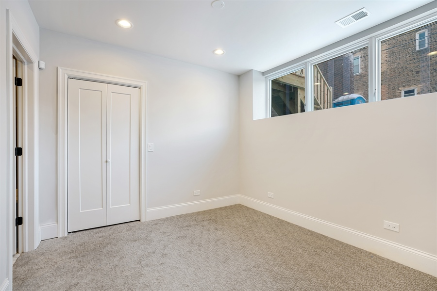 Real Estate Photography - 1906 N Hoyne Ave, Chicago, IL, 60639 - 3rd Bedroom
