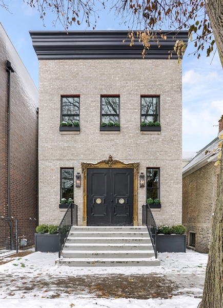 Real Estate Photography - 1906 N Hoyne Ave, Chicago, IL, 60639 - Front View