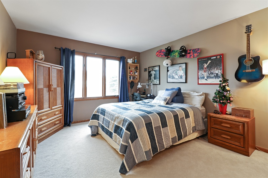 Real Estate Photography - 8658 Butterfield Lane, orland park, IL, 60462 - Bedroom