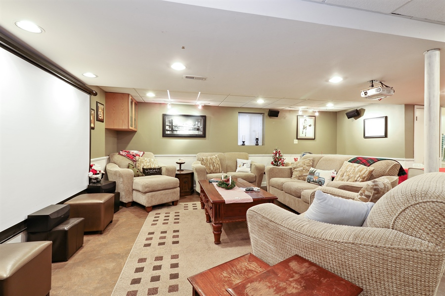 Real Estate Photography - 8658 Butterfield Lane, orland park, IL, 60462 - Basement