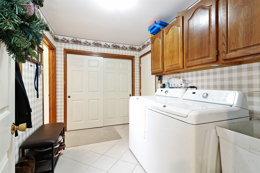 Real Estate Photography - 8658 Butterfield Lane, orland park, IL, 60462 - Laundry Room