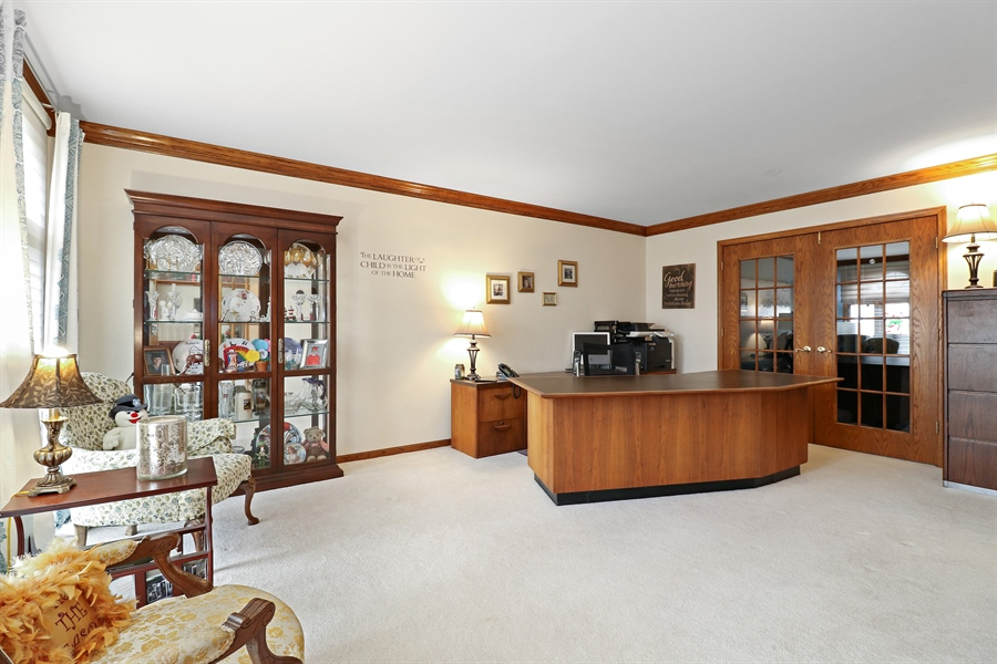 Real Estate Photography - 8658 Butterfield Lane, orland park, IL, 60462 - Office