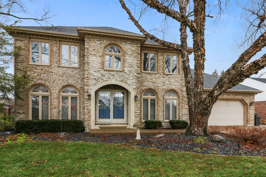Real Estate Photography - 8658 Butterfield Lane, orland park, IL, 60462 - Front View