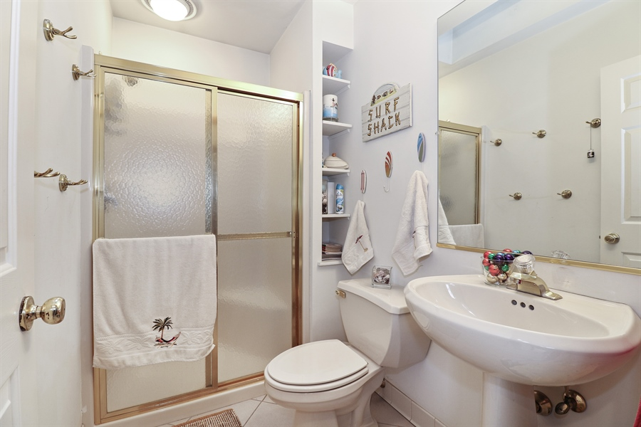 Real Estate Photography - 8658 Butterfield Lane, orland park, IL, 60462 - Bathroom