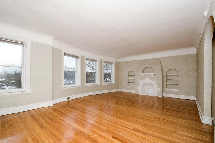 Real Estate Photography - 2729 Jarvis, Chicago, IL, 60645 - Living Room