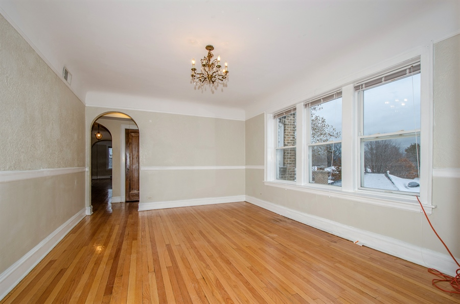Real Estate Photography - 2729 Jarvis, Chicago, IL, 60645 - Dining Room
