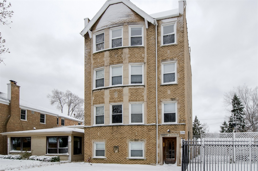 Real Estate Photography - 2729 Jarvis, Chicago, IL, 60645 - Front View