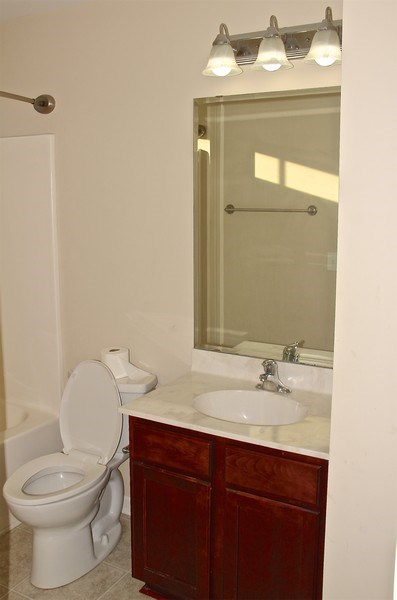 Real Estate Photography - 6409 Fawn Settle Dr, Wilmington, NC, 28409 - Bathroom
