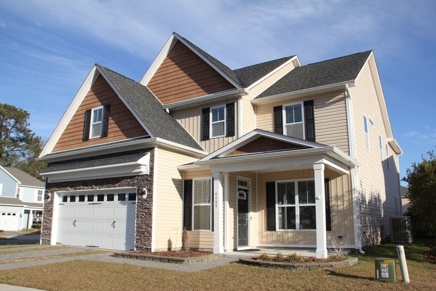 Real Estate Photography - 6409 Fawn Settle Dr, Wilmington, NC, 28409 - Front View
