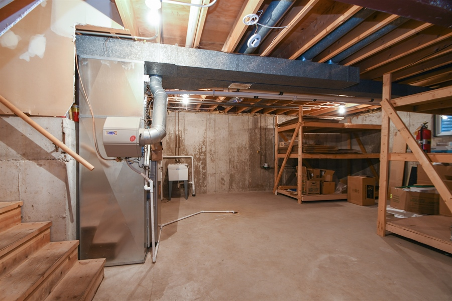 Real Estate Photography - 17140 70th Ave, Tinley Park, IL, 60477 - Basement