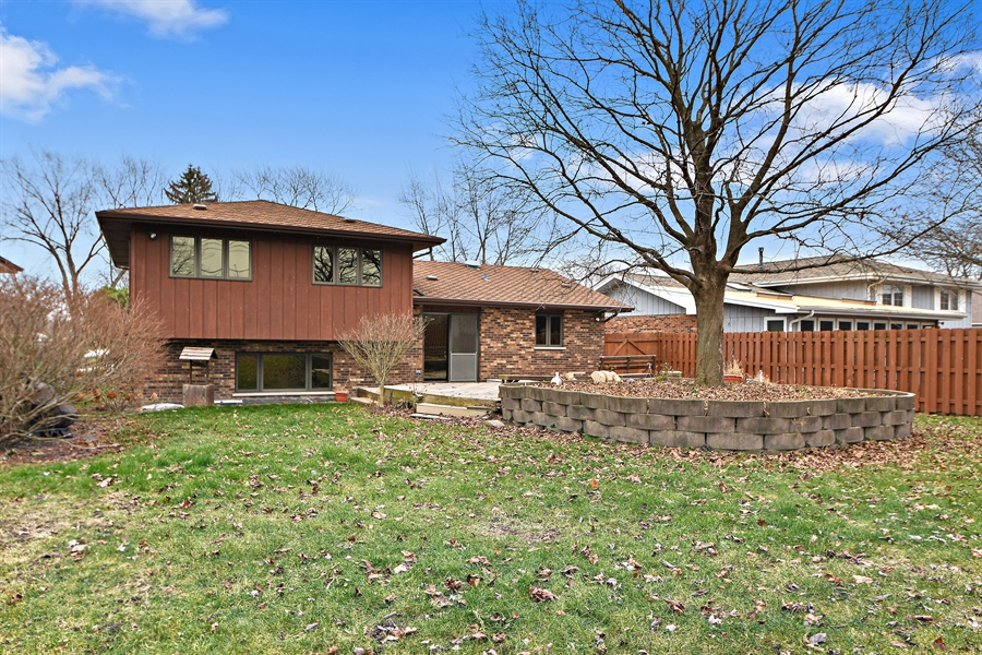 Real Estate Photography - 17140 70th Ave, Tinley Park, IL, 60477 - Rear View
