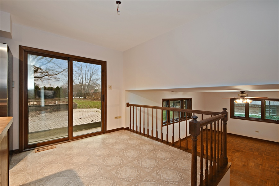 Real Estate Photography - 17140 70th Ave, Tinley Park, IL, 60477 - Breakfast Nook