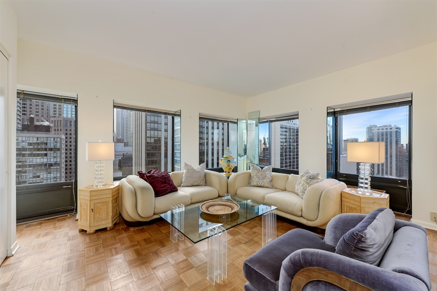 Real Estate Photography - 1100 N Lake Shore Dr, Unit 19C, Chicago, IL, 60611 - 2nd Bedroom