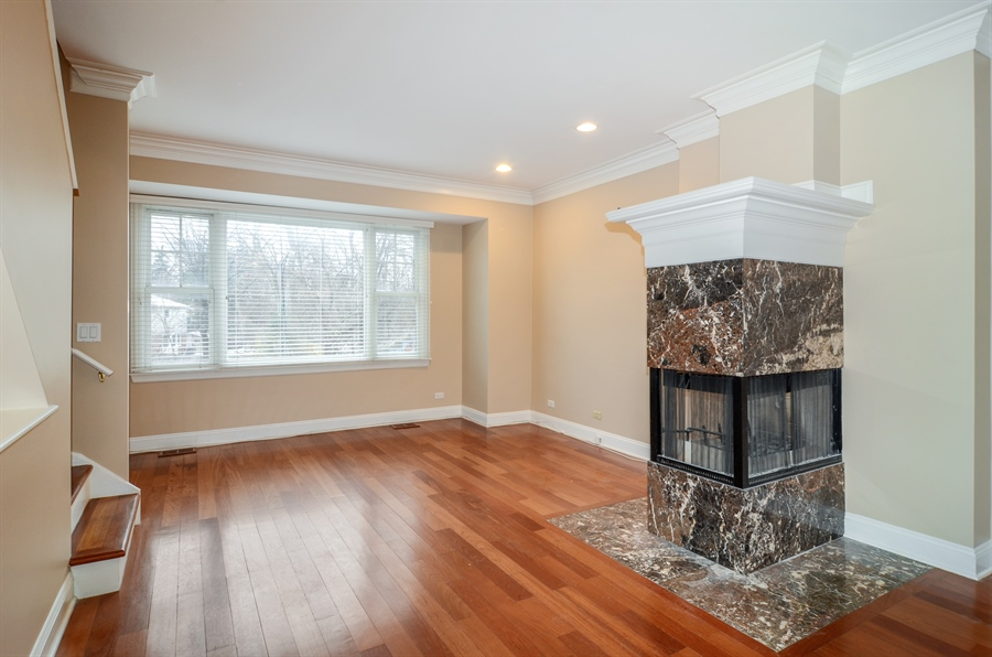 Real Estate Photography - 4325 W Peterson Ave, Chicago, IL, 60646 - Living Room