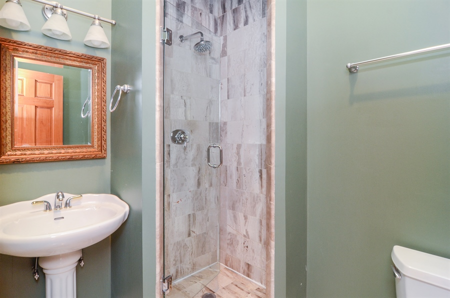 Real Estate Photography - 4325 W Peterson Ave, Chicago, IL, 60646 - Master Bathroom