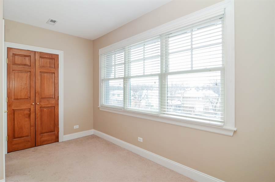 Real Estate Photography - 4325 W Peterson Ave, Chicago, IL, 60646 - 2nd Bedroom