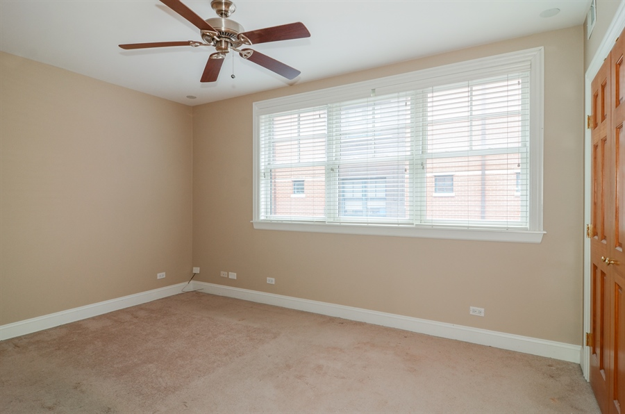 Real Estate Photography - 4325 W Peterson Ave, Chicago, IL, 60646 - 3rd Bedroom