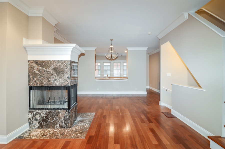Real Estate Photography - 4325 W Peterson Ave, Chicago, IL, 60646 - Dining Room