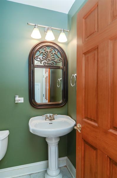 Real Estate Photography - 4325 W Peterson Ave, Chicago, IL, 60646 - Half Bath