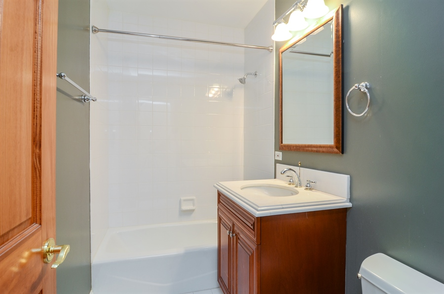 Real Estate Photography - 4325 W Peterson Ave, Chicago, IL, 60646 - 2nd Bathroom