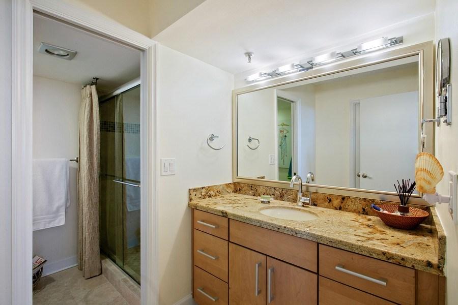 Real Estate Photography - 100 Ocean Trl, 710, Jupiter, FL, 33477 - Master Bathroom