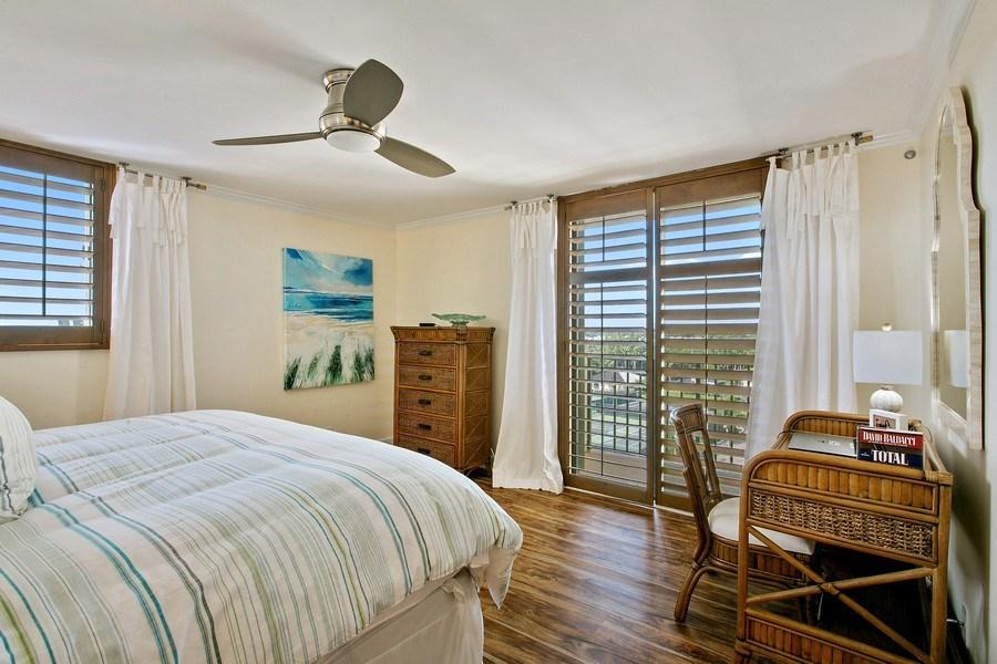 Real Estate Photography - 100 Ocean Trl, 710, Jupiter, FL, 33477 - Master Bedroom